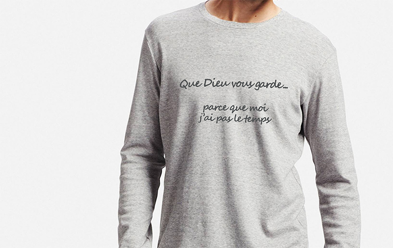 Tshirt Citation Humouir